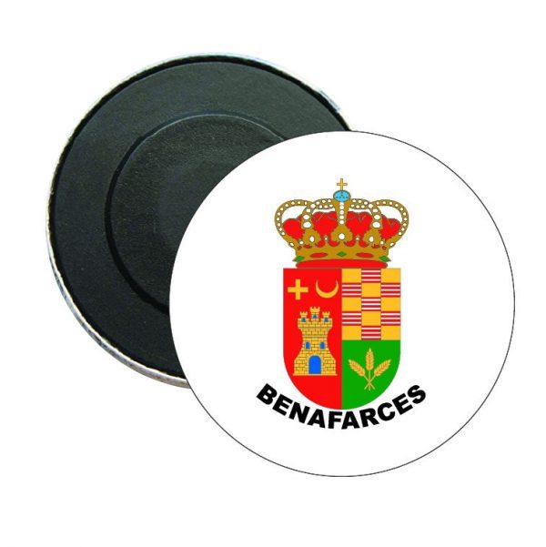 iman redondo escudo heraldico benafarces