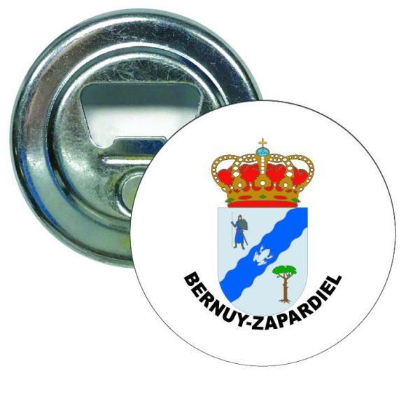 abridor redondo escudo heraldico bernuy zapardiel
