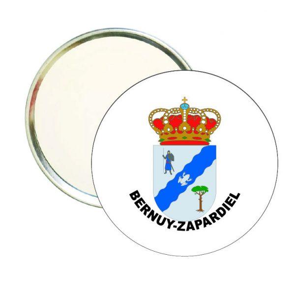 espejo redondo escudo heraldico bernuy zapardiel