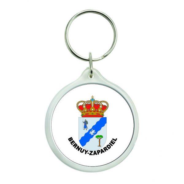 llavero redondo escudo heraldico bernuy zapardiel