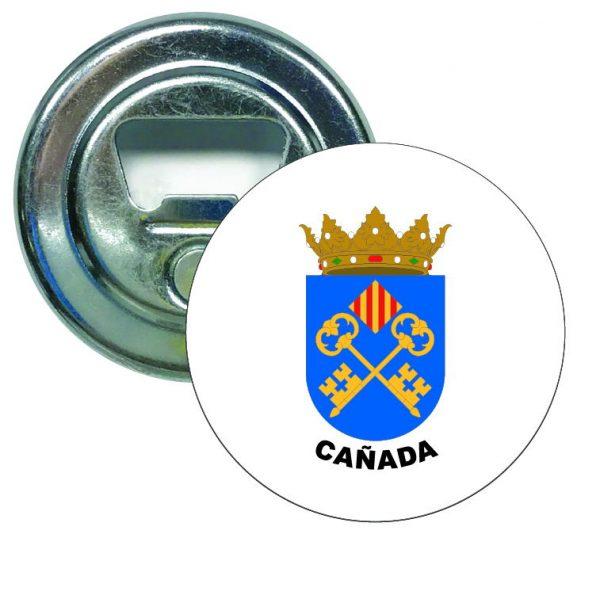 abridor redondo escudo heraldico canada