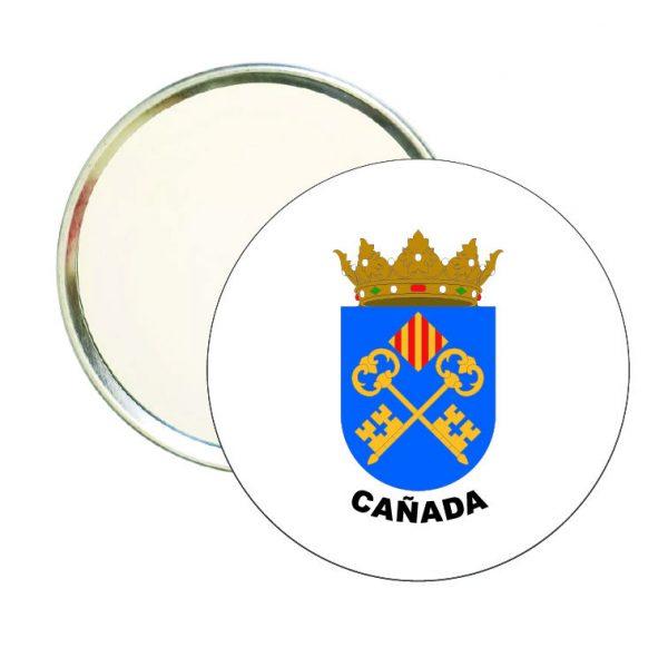 espejo redondo escudo heraldico canada