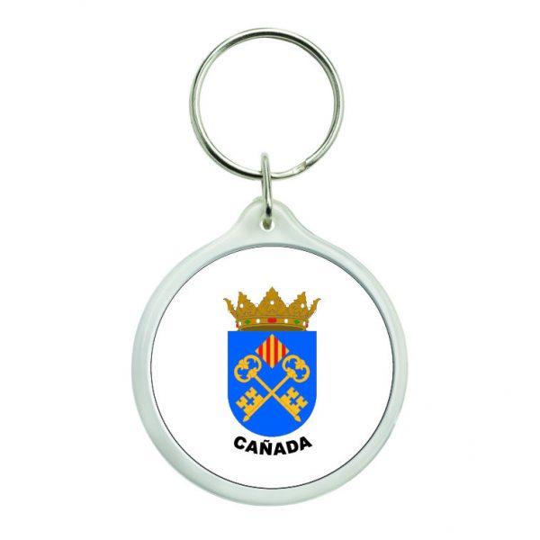 llavero redondo escudo heraldico canada
