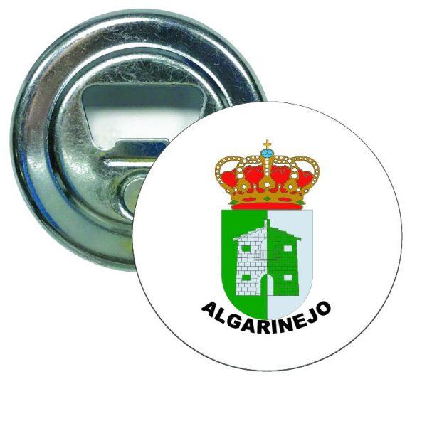 abridor redondo escudo heraldico algarinejo