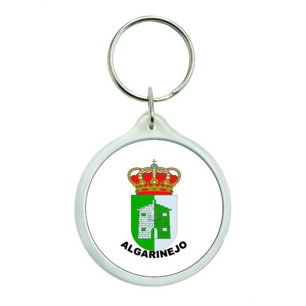 llavero redondo escudo heraldico algarinejo