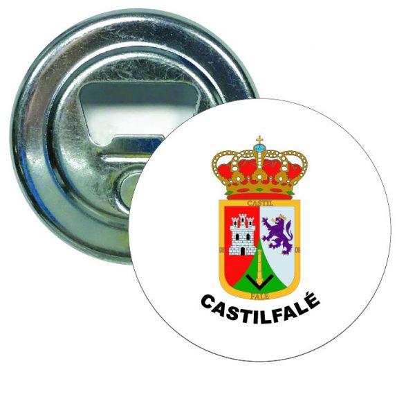 abridor redondo escudo heraldico castilfale