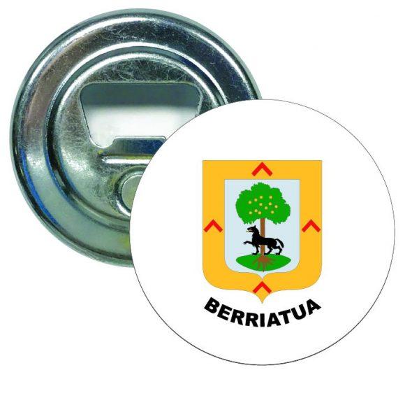abridor redondo escudo heraldico berriatua