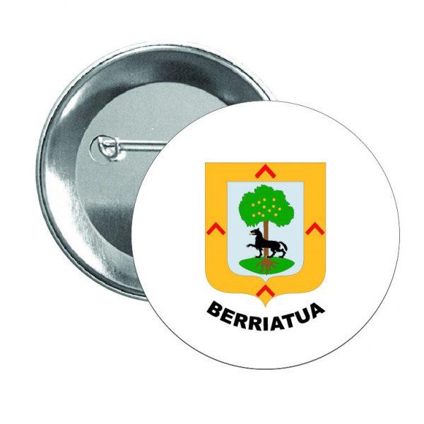 chapa escudo heraldico berriatua