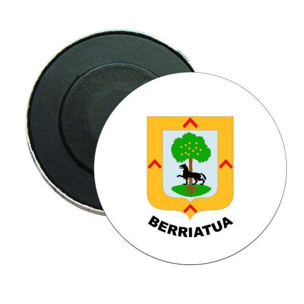 iman redondo escudo heraldico berriatua