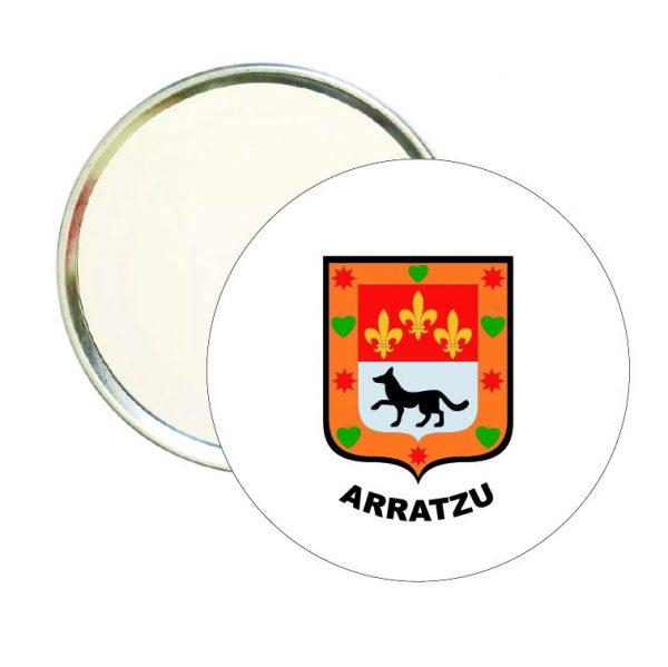 espejo redondo escudo heraldico arratzu