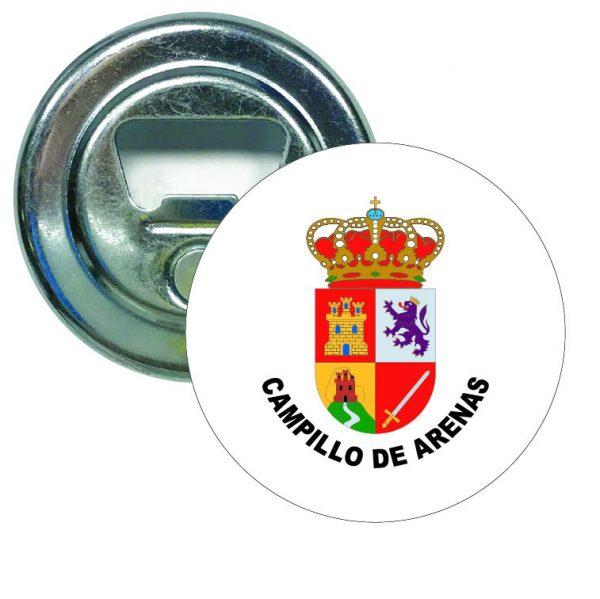 abridor redondo escudo heraldico campillo de arenas