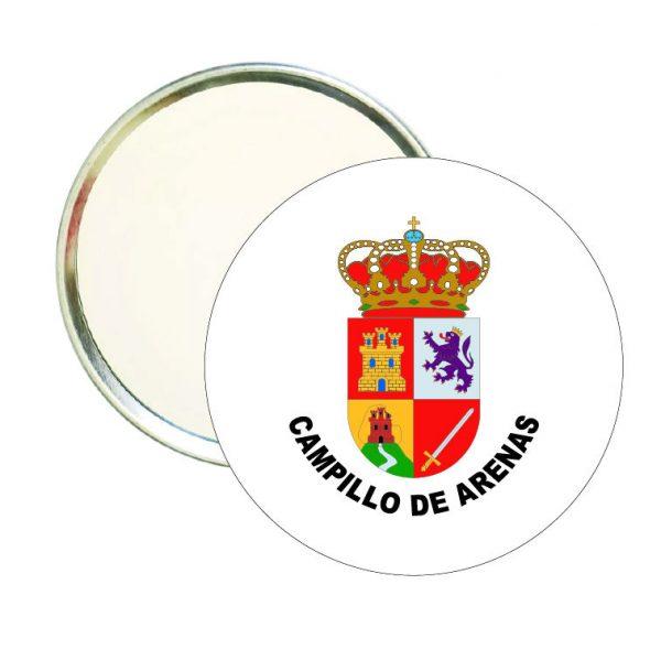 espejo redondo escudo heraldico campillo de arenas