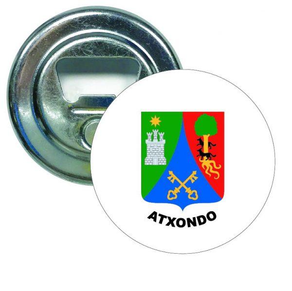 abridor redondo escudo heraldico atxondo