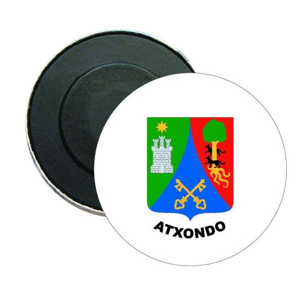 iman redondo escudo heraldico atxondo