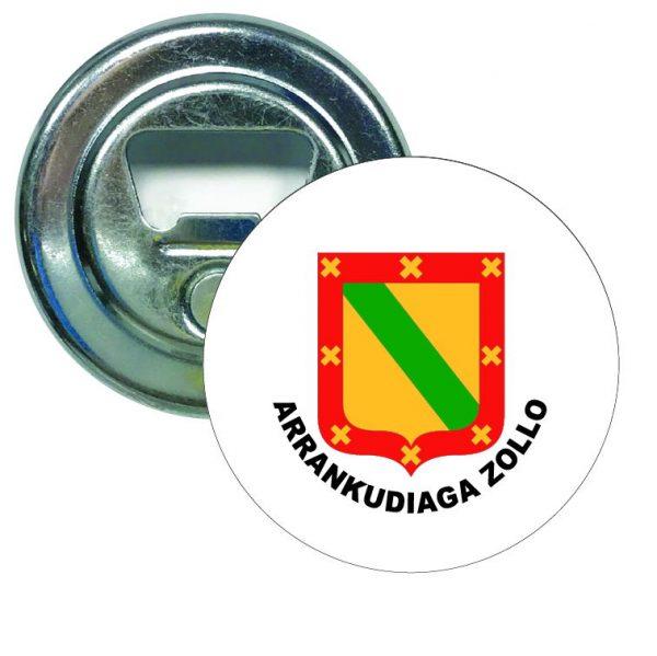 abridor redondo escudo heraldico arrankudiaga zollo