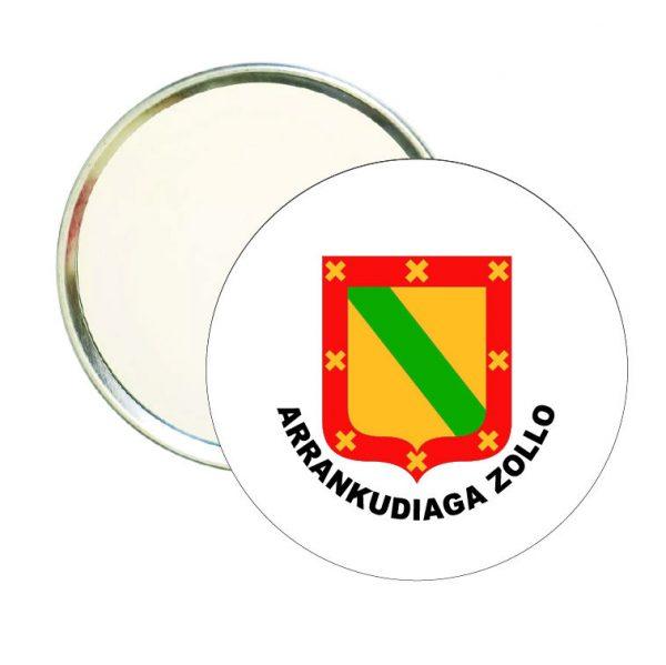 espejo redondo escudo heraldico arrankudiaga zollo