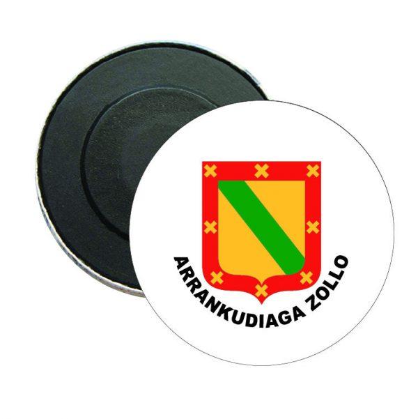 iman redondo escudo heraldico arrankudiaga zollo