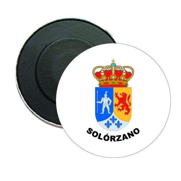 iman redondo escudo heraldico solorzano