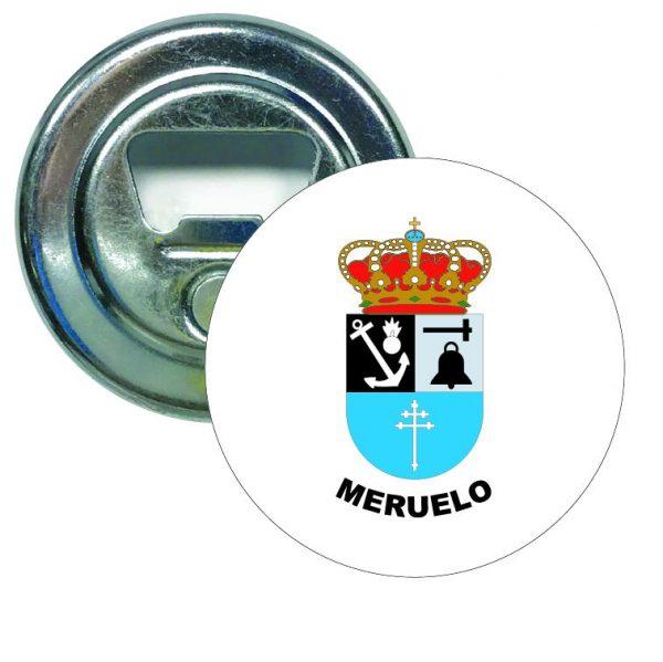 abridor redondo escudo heraldico meruelo