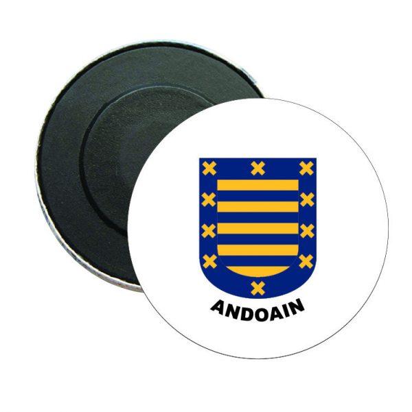 iman redondo escudo heraldico andoain