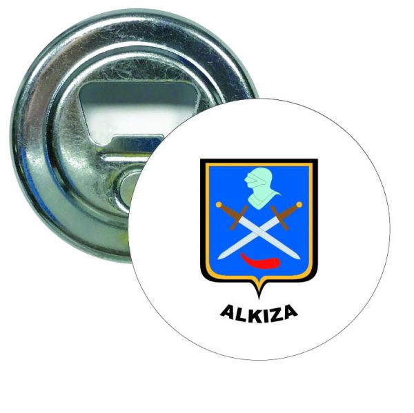 abridor redondo escudo heraldico alkiza