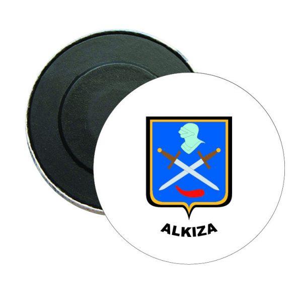 iman redondo escudo heraldico alkiza