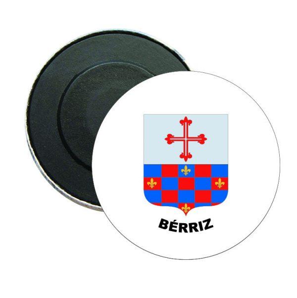 iman redondo escudo heraldico berriz