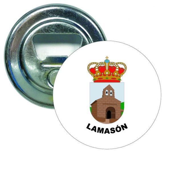 abridor redondo escudo heraldico lamason