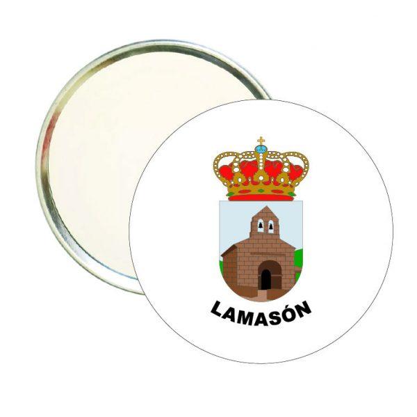 espejo redondo escudo heraldico lamason