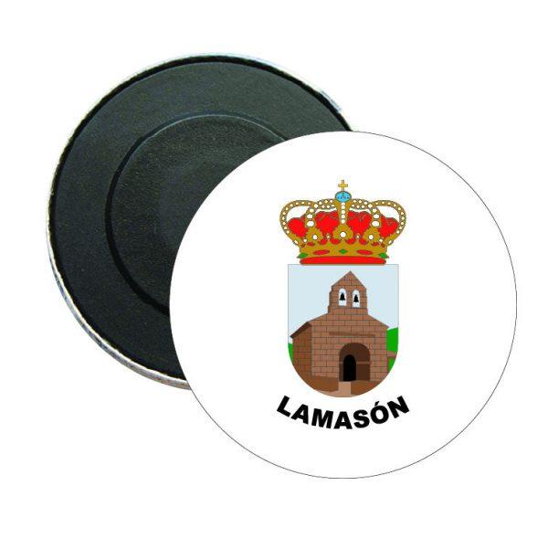 iman redondo escudo heraldico lamason