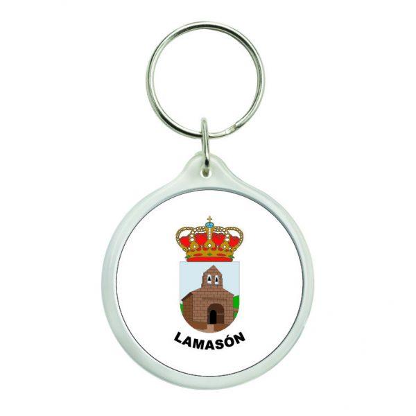 llavero redondo escudo heraldico lamason