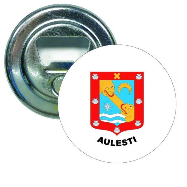 abridor redondo escudo heraldico aulesti