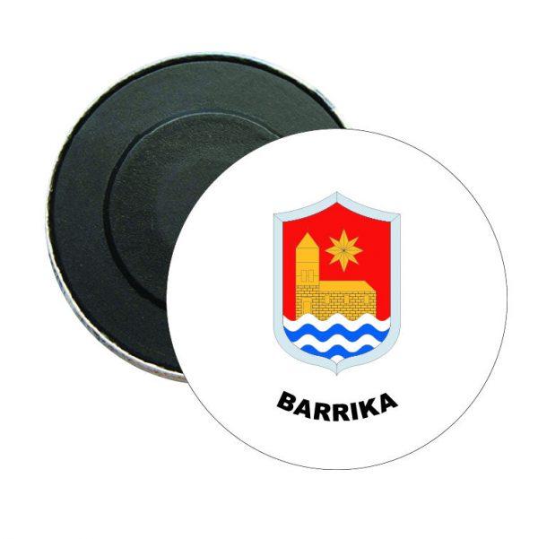 iman redondo escudo heraldico barrika