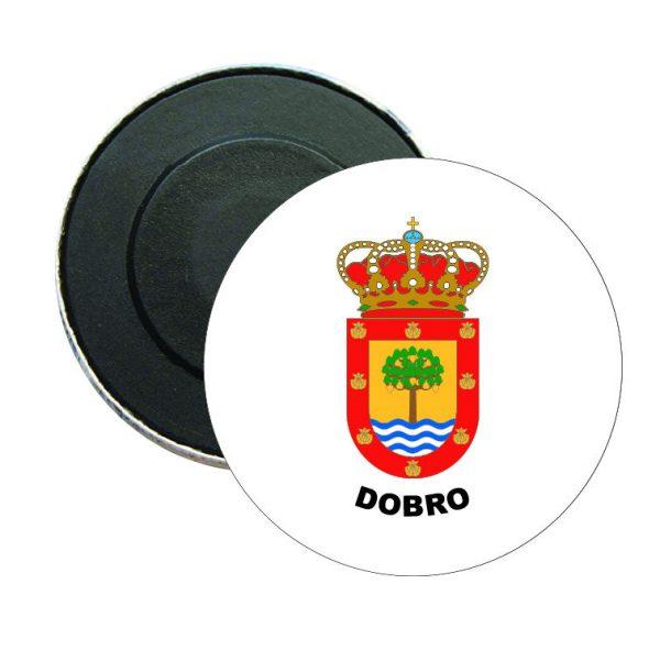iman redondo escudo heraldico dobro
