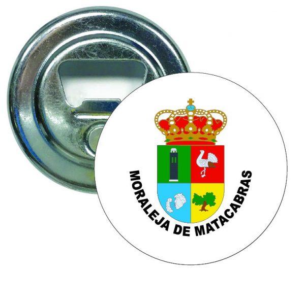 abridor redondo escudo heraldico moraleja de matacabras