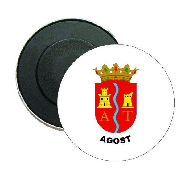 iman redondo escudo heraldico agost