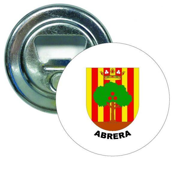 abridor redondo escudo heraldico abrera