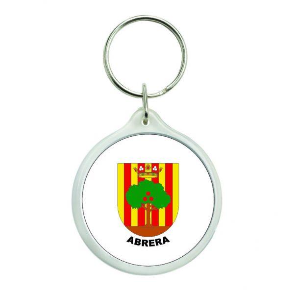llavero redondo escudo heraldico abrera