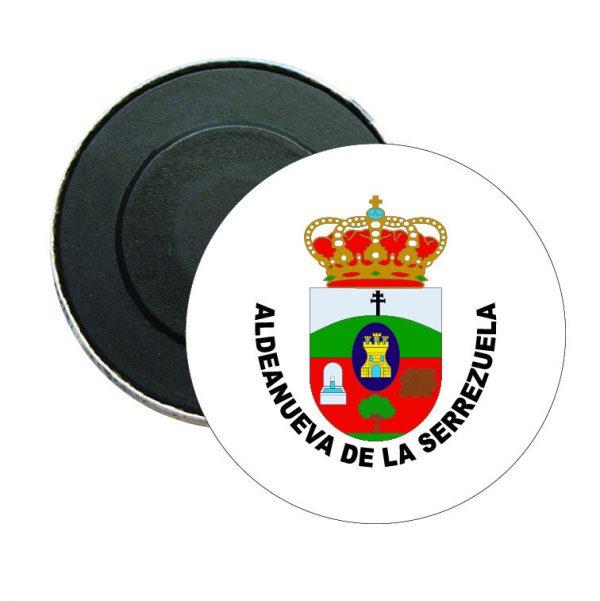 iman redondo escudo heraldico aldeanueva de la serrezuela
