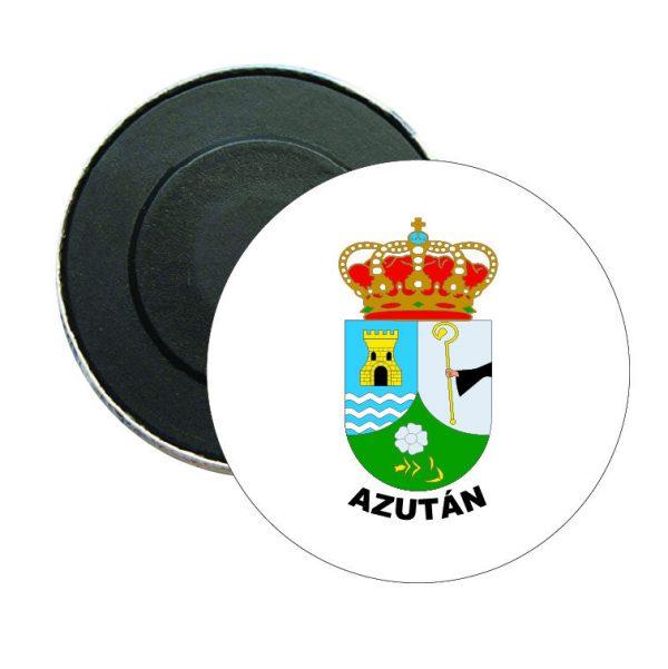 iman redondo escudo heraldico azutan