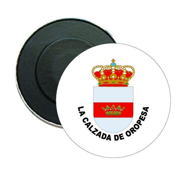 iman redondo escudo heraldico la calzada de oropesa