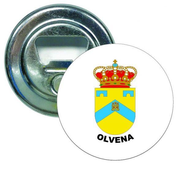 abridor redondo escudo heraldico olvena