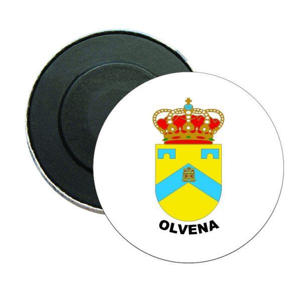 iman redondo escudo heraldico olvena