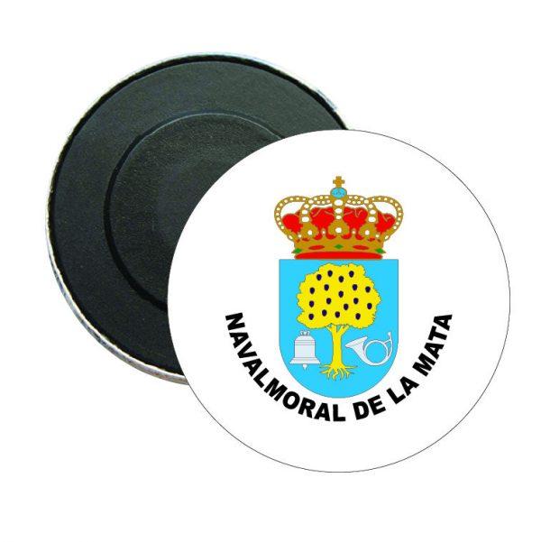 iman redondo escudo heraldico navalmoral de la mata