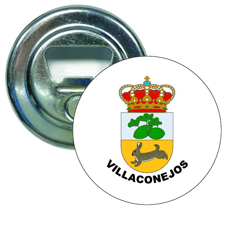 abridor redondo escudo heraldico villaconejos