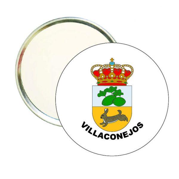 espejo redondo escudo heraldico villaconejos