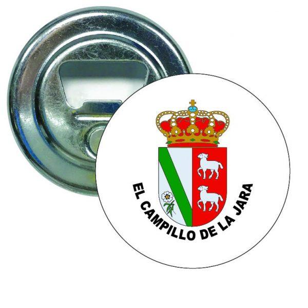 abridor redondo escudo heraldico el campillo de la jara
