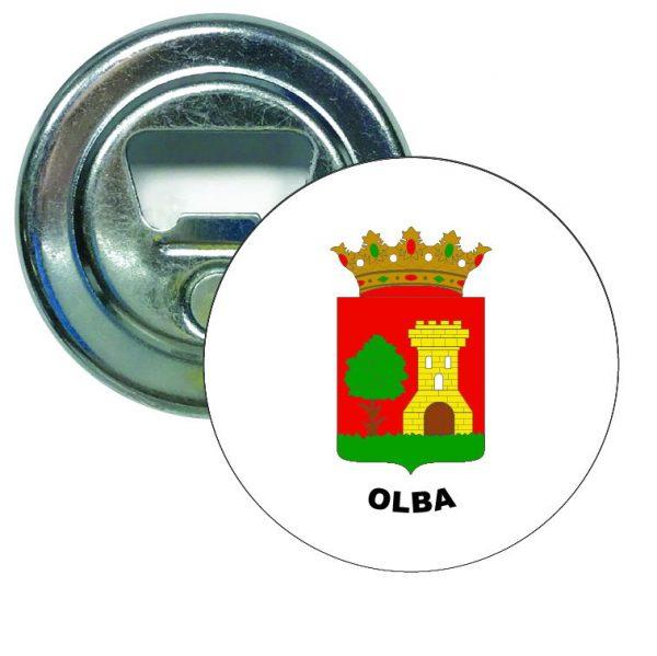 abridor redondo escudo heraldico olba