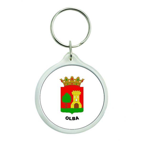 llavero redondo escudo heraldico olba