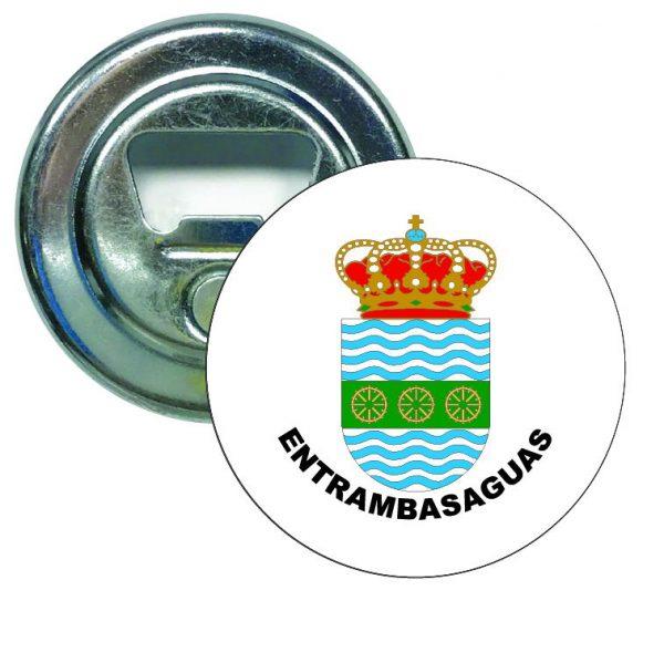 abridor redondo escudo heraldico entrambasaguas